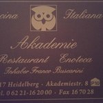 Restaurant Akademieの写真