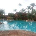 Main residence pool
