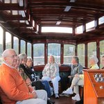 champagne companions on Lake Toxaway boat ride