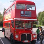A lost bus at the Clock car park - COYS!