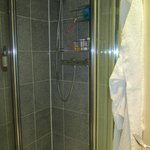 Standing shower - excellent water pressure