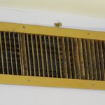 Air vent in room