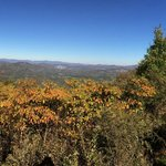 Whiteside Mountain View