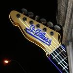 St Blues sign
