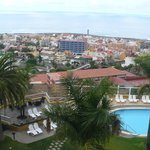 Blick über Puerto de la Cruz auf den Atlantik