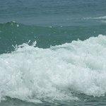 Море не много бушует....