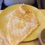 Le bonheur simple du crêpe beurre sale sucre!!