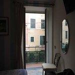 balcony off Aria room