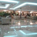 comfortable reception lounge