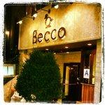 Outside of Becco