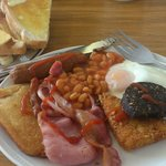 Lovely Breakfast including drink for only £4