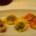 A trio if Pasta, nice but dry