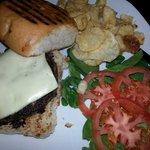 The pepper jack burger