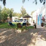 The patio beside room Essaouira