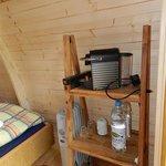 Holz-Iglu Podhouse Ausstattung
