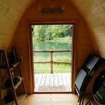 Holz-Iglu Podhouse Aussicht