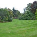 Beauiful sweeping gardens