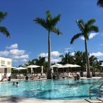 Our day at the pool - Very attentive service, comfortable chairs
