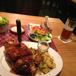 Great pork knuckle