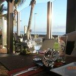 Vue depuis le restaurant sur l'OCEAN