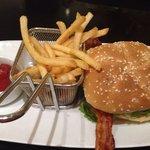 Marriott burger excellent!!!