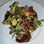 Walnut & Smoked Pear salad