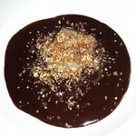 Chocolate & praline soup