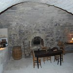 View of the original oven on the ground floor