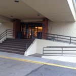 Check-in with Handicap ramp