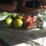 fresh fruit to finish meal