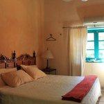 La Damina Inn bedroom
