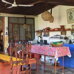 La Damina Inn - open air kitchen