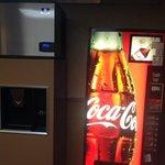 Soda machine on our floor