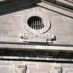 Entrance inside prison