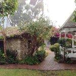 Gazebo and Stone Cottage.