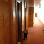 Hallway in room area