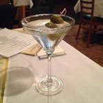 Nicely Chilled Blue Sapphire Martini
