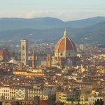 Florence in October sunshine