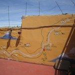Mur décoratif de la région d'Arequipa