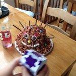 Yummy scrummy cake!