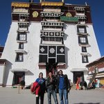 At Potala Palace with Jigme