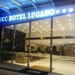 Facciata dell'hotel HCC Lugano