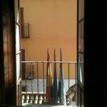one of the 2 balconies in bedroom 102