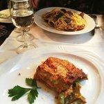 Spaghete al Vongole e Lasagna Verde