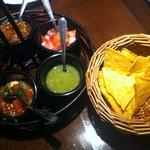 totopos con salsa