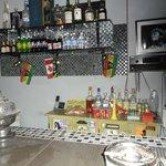 bar exterieur dans la cour