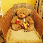 Teddy Bear was in the room. His friends came to visit.
