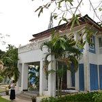Hôtel depuis le jardin
