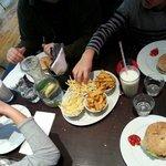 Burger frites Gbk