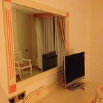 Specchio e tv